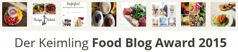 Keimling Food Blog Award 2014