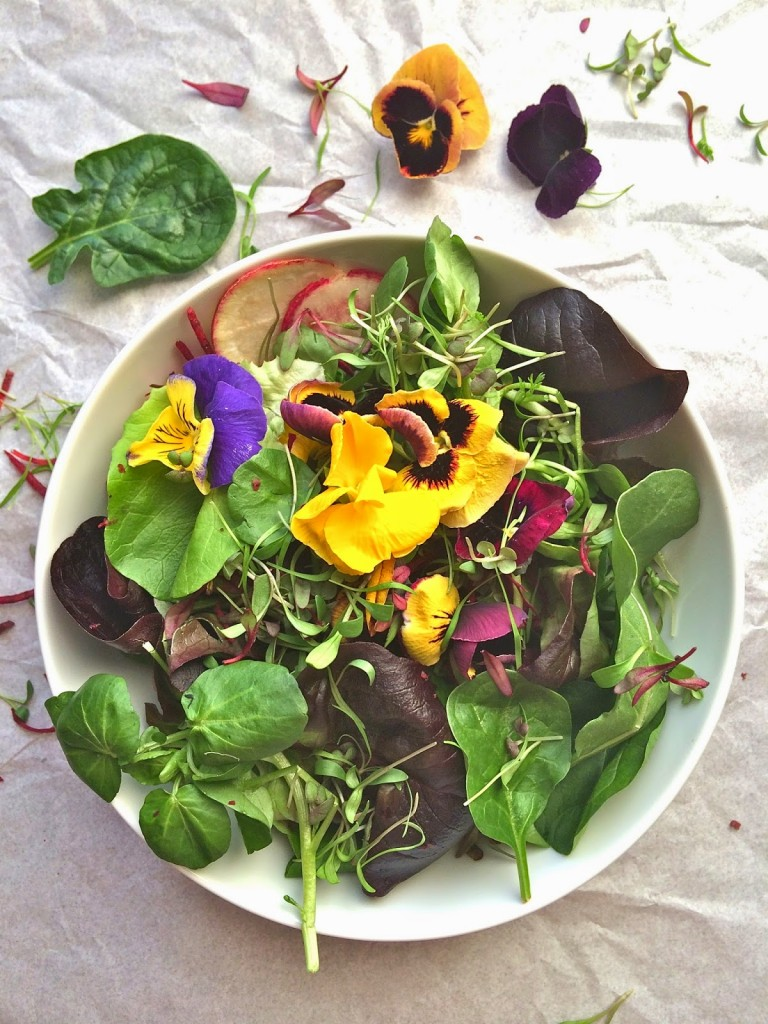 greens+and+edible+flowers+1