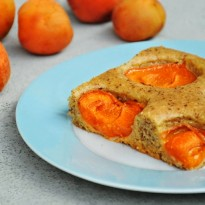 veganer-Marillenkuchen