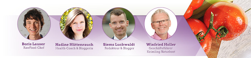 Die Jury des diesjährigen Keimling Food Blog Awards